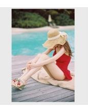 【即納】ワンピース水着-tkm-n4926-rd-xl-【カラー:赤】-【サイズ:XL】