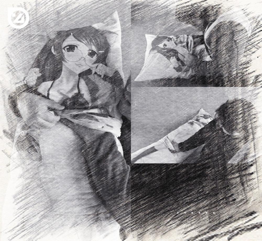 小林さんちのメイドラゴン カンナカムイ 2枚重ね 脱着式 アニメ抱き枕カバー 二次元 萌え  同人  アニメグッズ  一萌一会  kz00013-3
